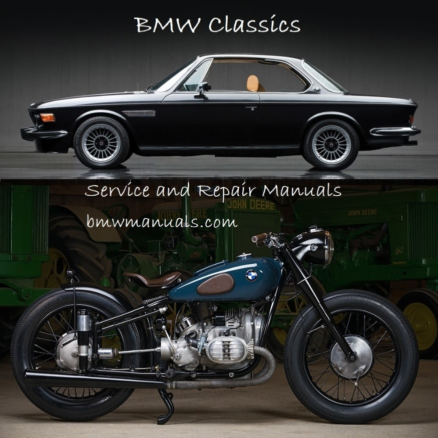 BMW Service and Repair Manuals, Do-it-Yourself