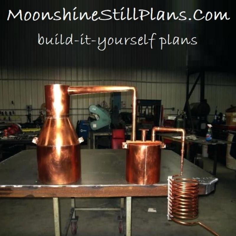 Moonshine Still Plans, Build-it-Yourself